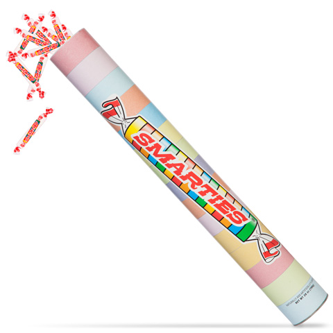Giant Tube Of Smarties Candy