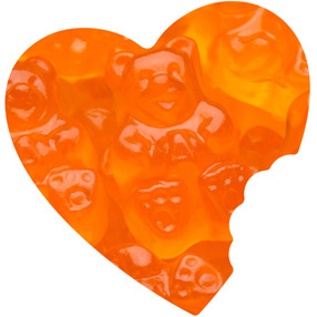 Orange Gummy Bears Bulk
