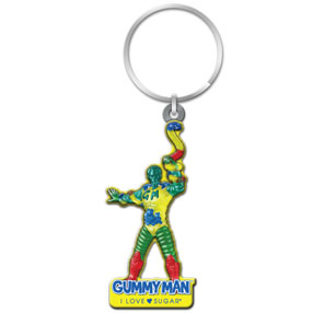 Gummyman Key Chain