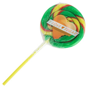 I Love Sugar Watermelon Lollipop