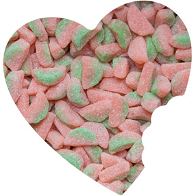 Sour Patch Watermelon Slices
