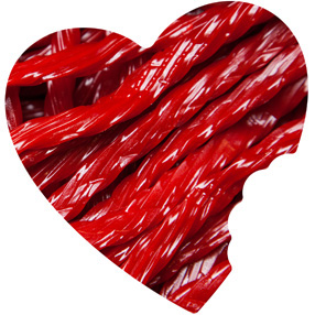 Twizzlers Cherry Flavored Licorice Candy