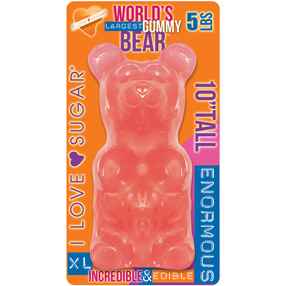 Giant Gummy Bear Bubblegum