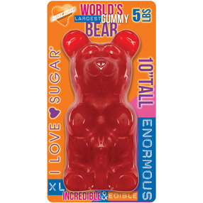 Giant Gummy Bear Cherry