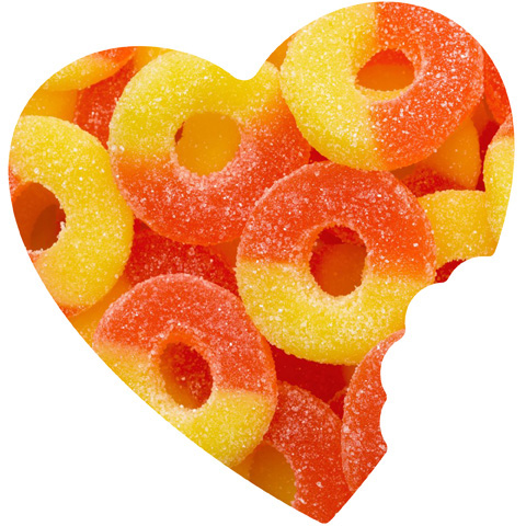 gummy rings candy amazon trolli bag peach com pound dp